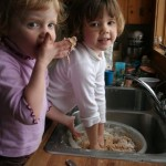 Bread Making with Gma