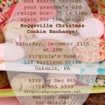 Annual Boggsville Cookie Exchange 2010