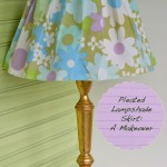 Sewing Room Cute: A Lampshade Makeover