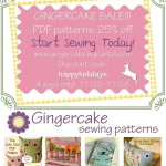 Sewing vs. Shopping.  Gingercake Pattern Sale!