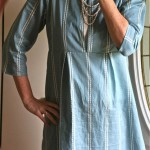 School House Tunic in AMH Voile