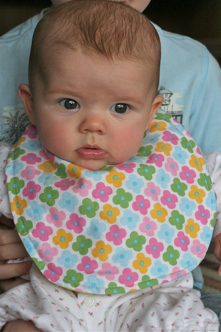 Super Simple Little Bib Tutorial For My Slobberer And Craft Hope Make Day Baby Penguin Marion With