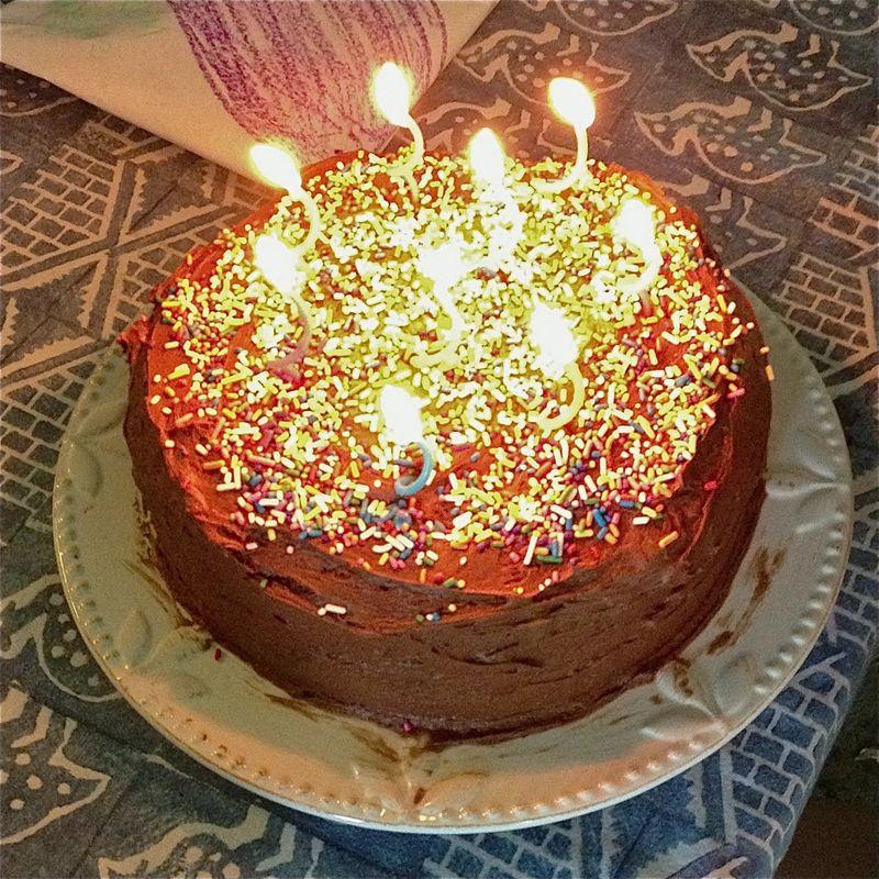 9 year old cake