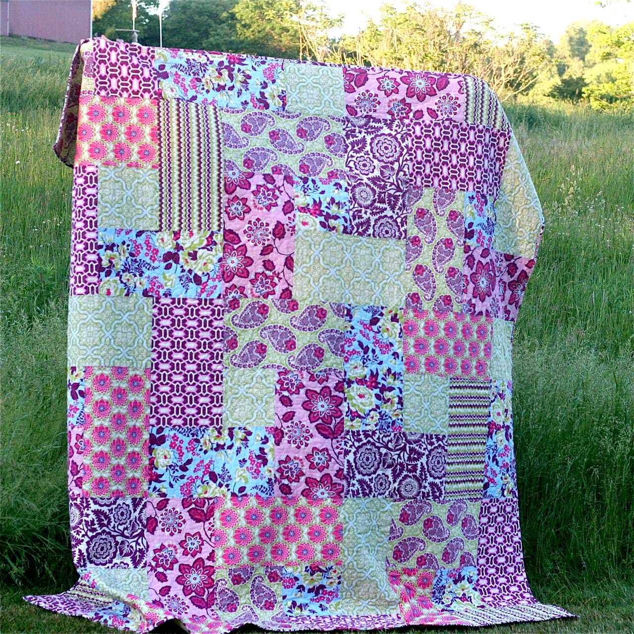 Big Block Quilt For Me Gingercake