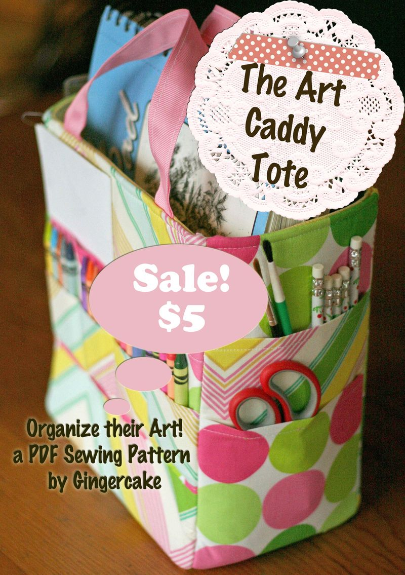 Art caddy $5 sale