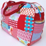 Red Patchwork Bag Experiment