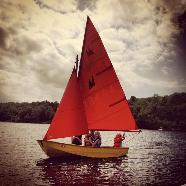 Sailing with Jeremy