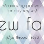 Sew Fab Pattern Sale is HERE!