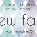 Announcing the Sew Fab Pattern Sale Fall 2013!