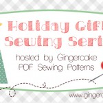Holiday Gifts Sewing Series:  Endlessly inspired sews a Waste Free Tote!