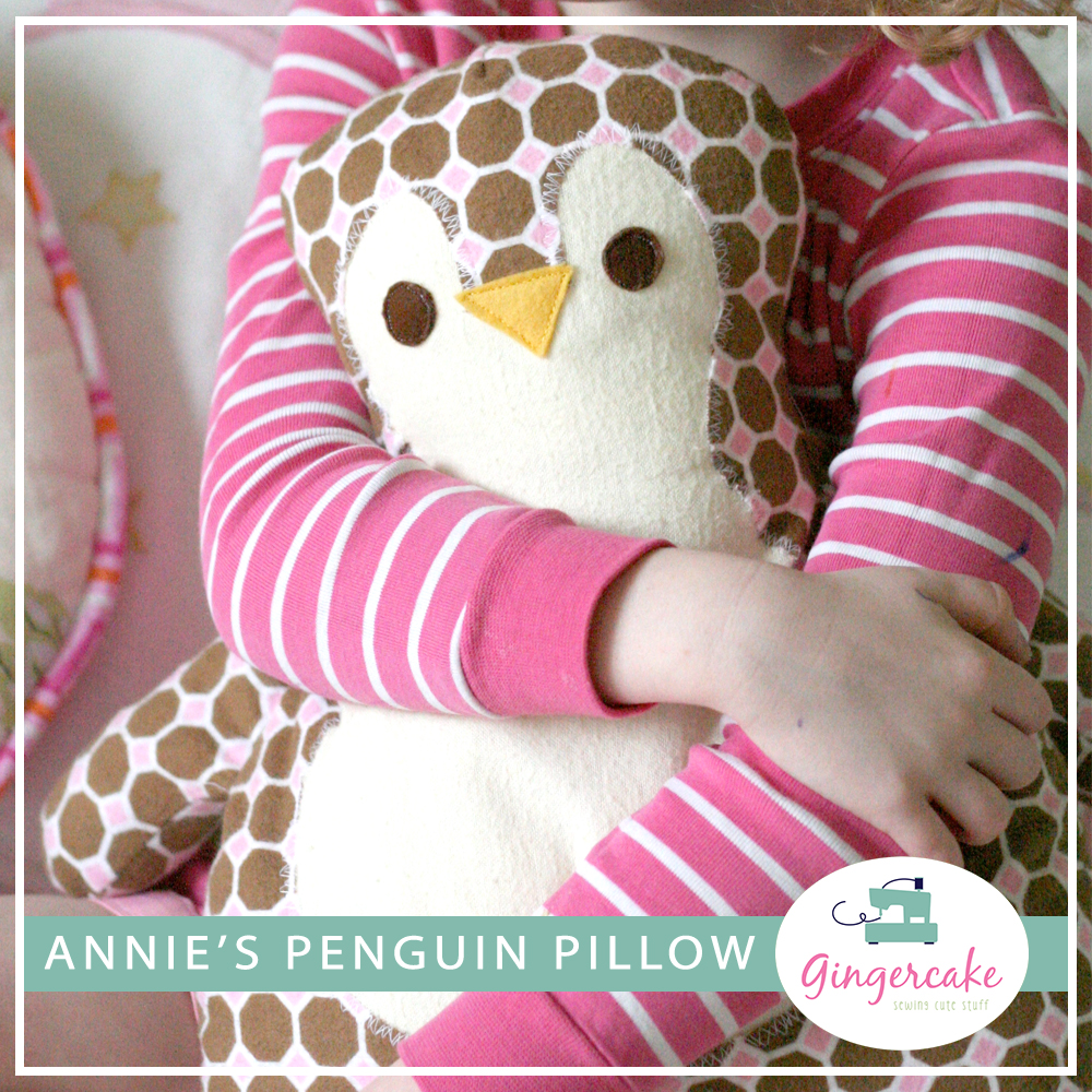PDF Penguin Pillow Sewing Pattern