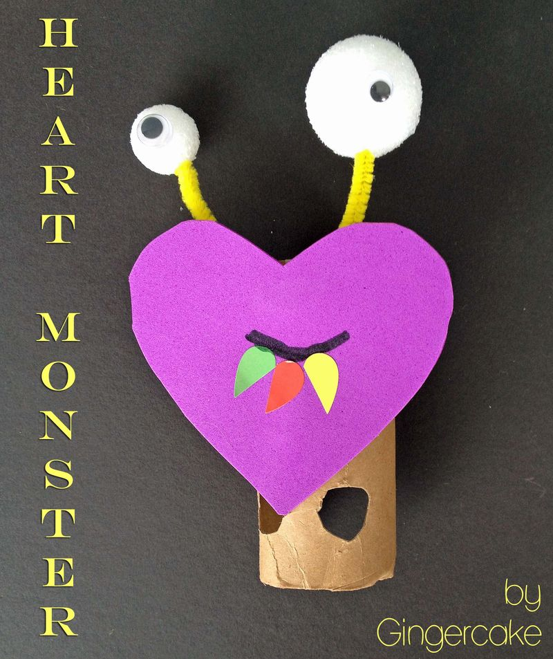Heart monster title