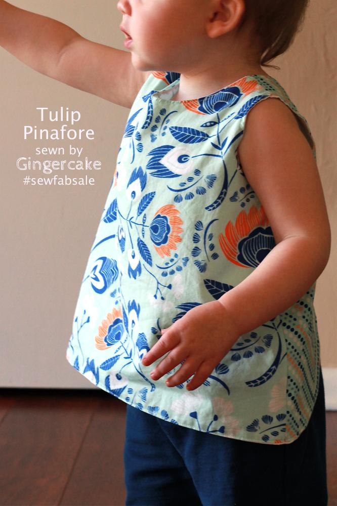 Tulip pinafore 3