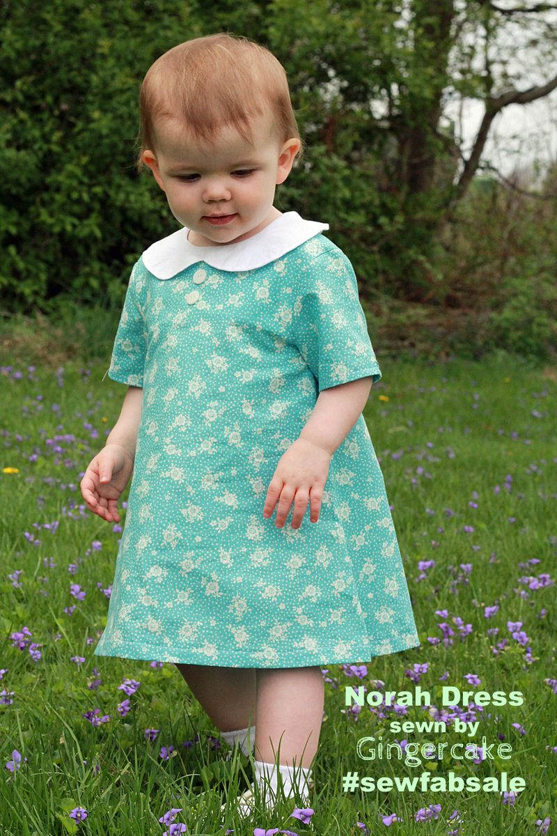 Sew Fabulous Norah Dress from the Sew Fab Bundle Sale!