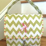 Sew Cute Love Your Lunch Bag by Alex