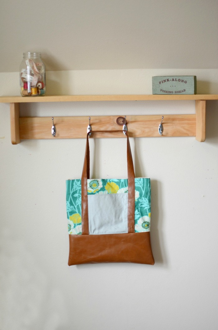 Great Big Leather Tote