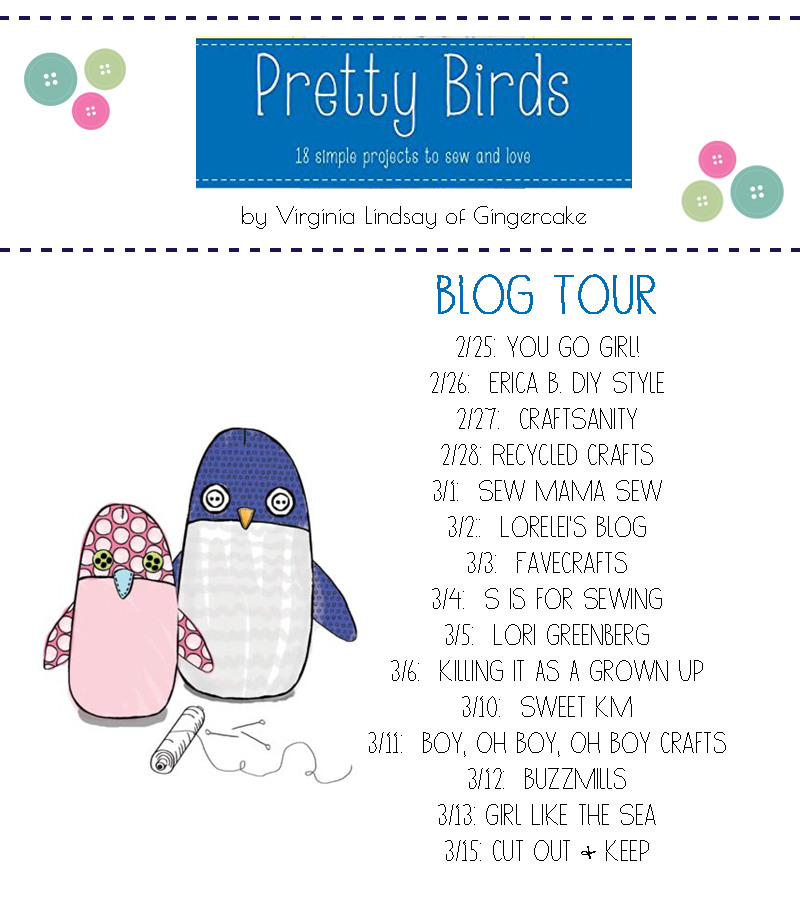 Pretty Birds Blog Tour Graphic