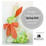 Spring 2015 Modern Folksy Bunny Sewing Kit