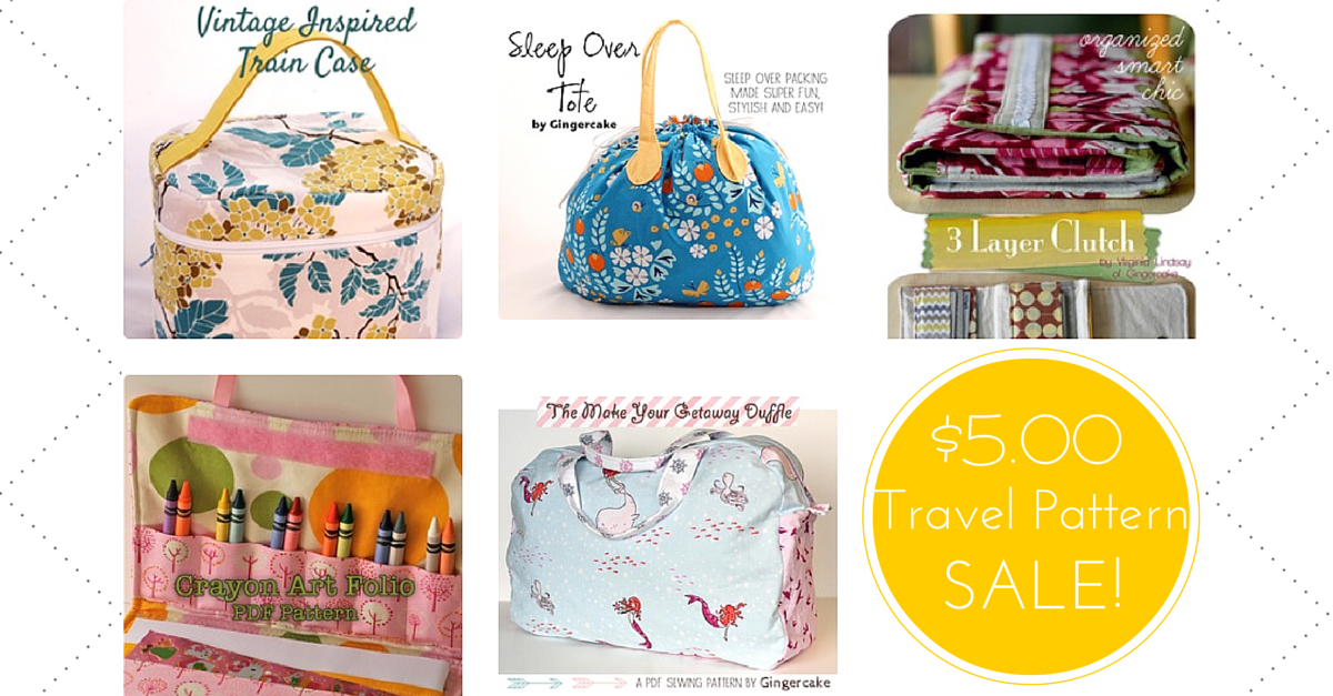 Travel Pattern Sale!