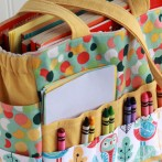 Art Caddy Tote ~ a softer side…