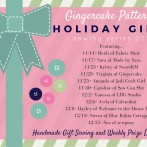 Week 4 (already!) Giveaway from the Gingercake Holiday Gifts Sewing Series