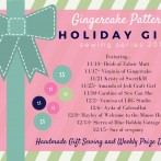 Gingercake Holiday Gifts Sewing Series 2016 and week 1 giveaway!