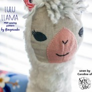 Sew Can She Llama!  Sew Sew Adorable