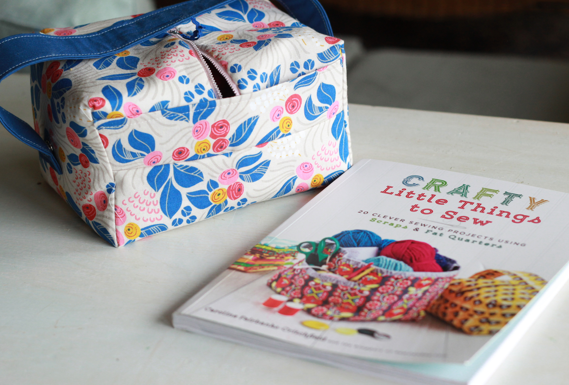 floral-lunch-box-with-book