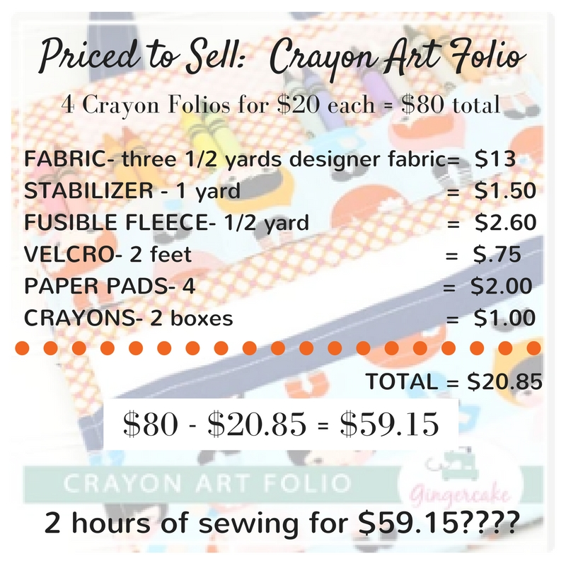 Priced to Sell_ Crayon Art Folio