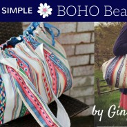 Boho Beach Bag Tutorial