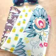 Learn to make a cute new EASY sun glass holder