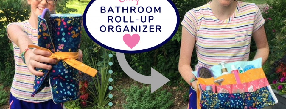 Roll-Up Organizer Sewing Tutorial