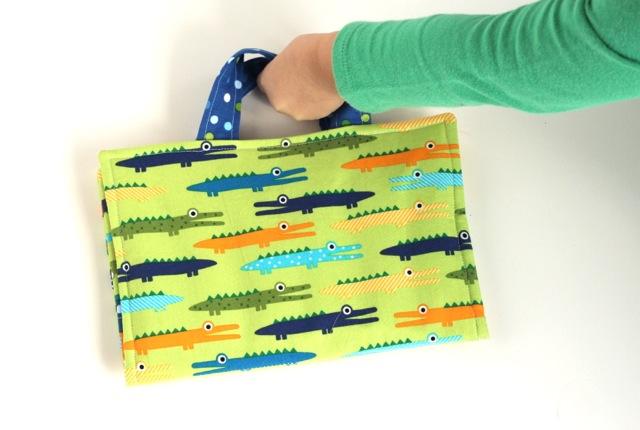 fabric crayon holder organizer for boys