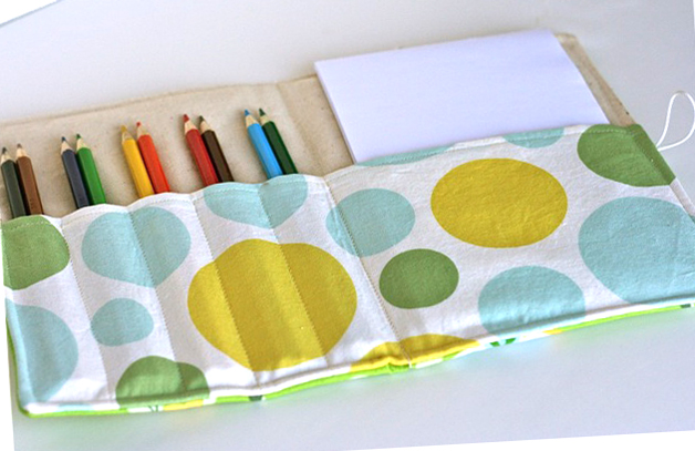 color pencil holder sewing pattern