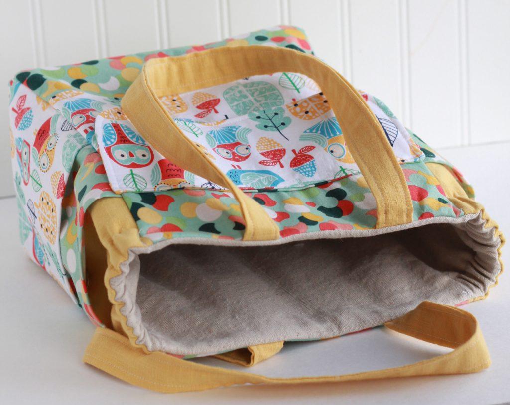 kids art supply bag sewing pattern
