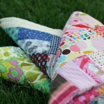Scrap Color Baby Quilt Tutorial