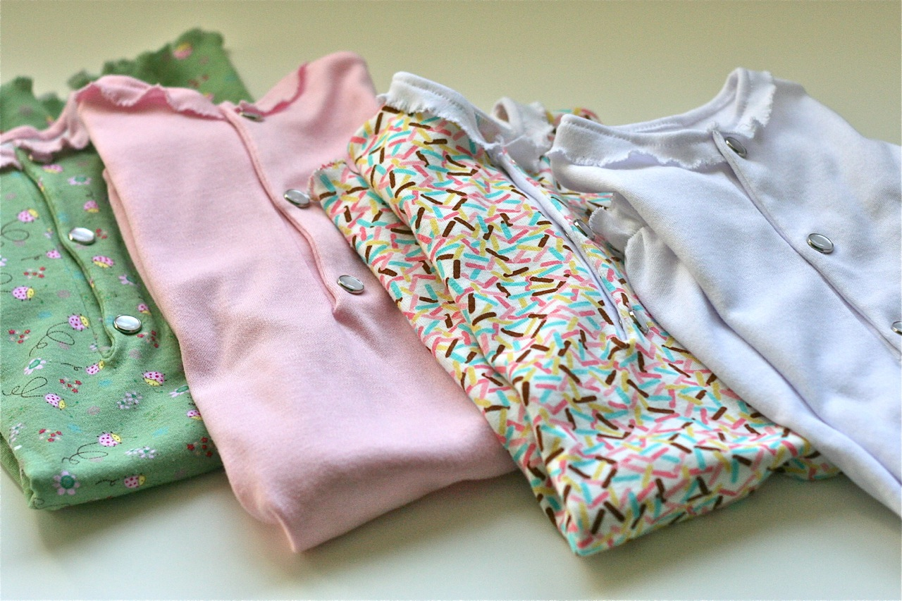 Newborn Baby Gowns Sewing Tutorial