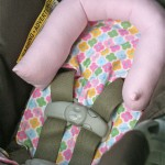 Infant car Seat Head Support – AKA no more wobbly head