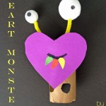 Heart Monster Craft