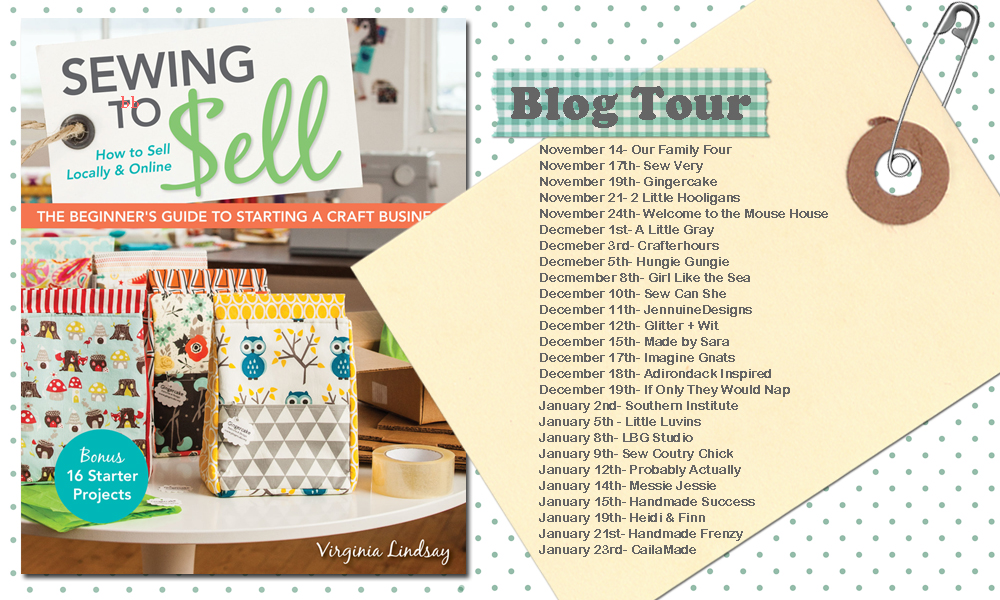 Sewing to Sell Blog Tour