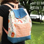 Day Off Back Pack Version THREE:  the MASH-UP!