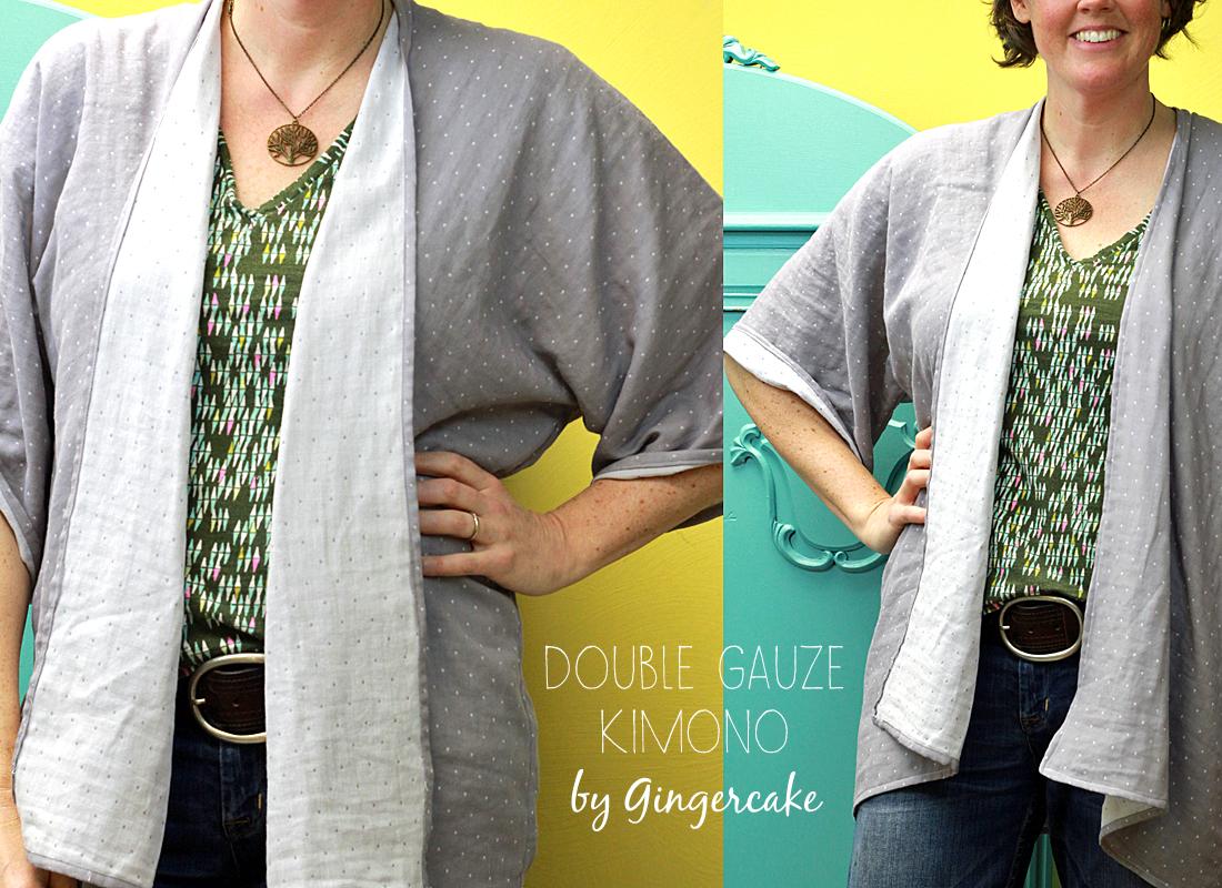 Organic Double Gauze Kimono