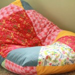 Bean Bag Chair in the New Frolic Fabric Collection!
