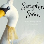 Seraphina Swan Sewing Pattern all dressed up!