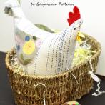 Cheery Fabric Chicken Tutorial