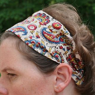 Bad Hair Day Be Gone!  20 Minute Bohemian Headband Tutorial