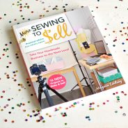 More Sewing to Sell is HERE!  And the first giveaway…