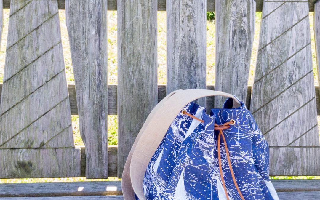 Beachy Bucket Bag by Kristin
