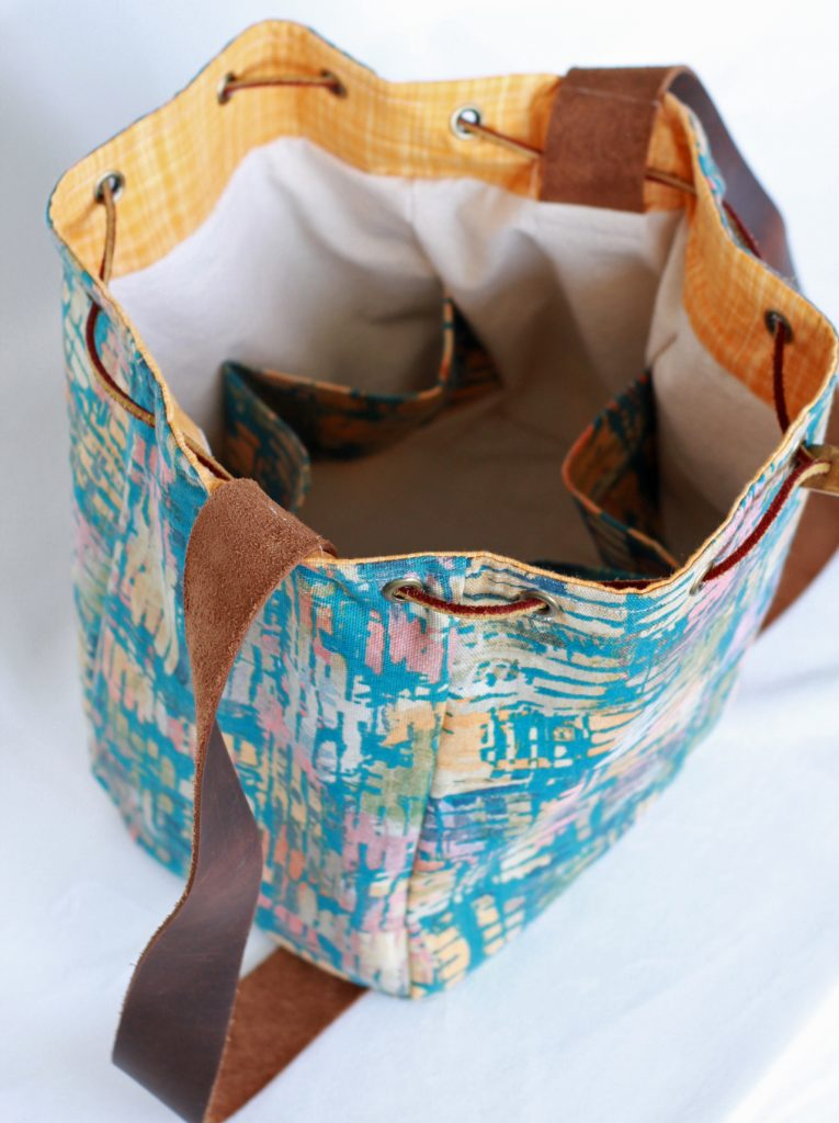 Gingercake Bucket Bag Pattern Is Now In The Shop Gingercake