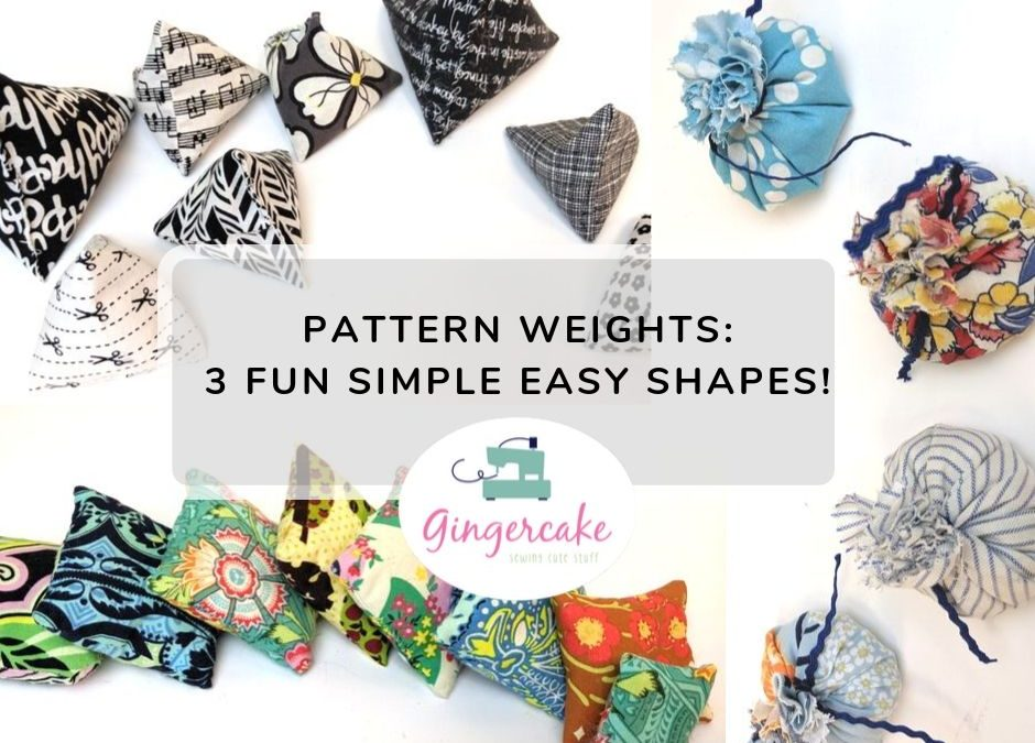 Pattern Weights made 3 ways Video Tutorial and chance to WIN!